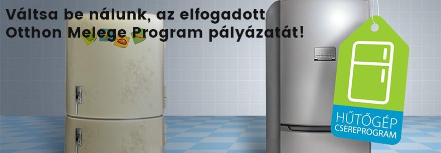 Állami hűtőgép csereprogram!